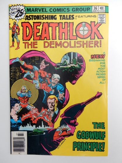 Astonishing Tales #36 Deathlok The Demolisher