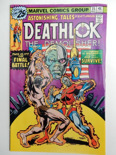 Astonishing Tales #35 Deathlok The Demolisher
