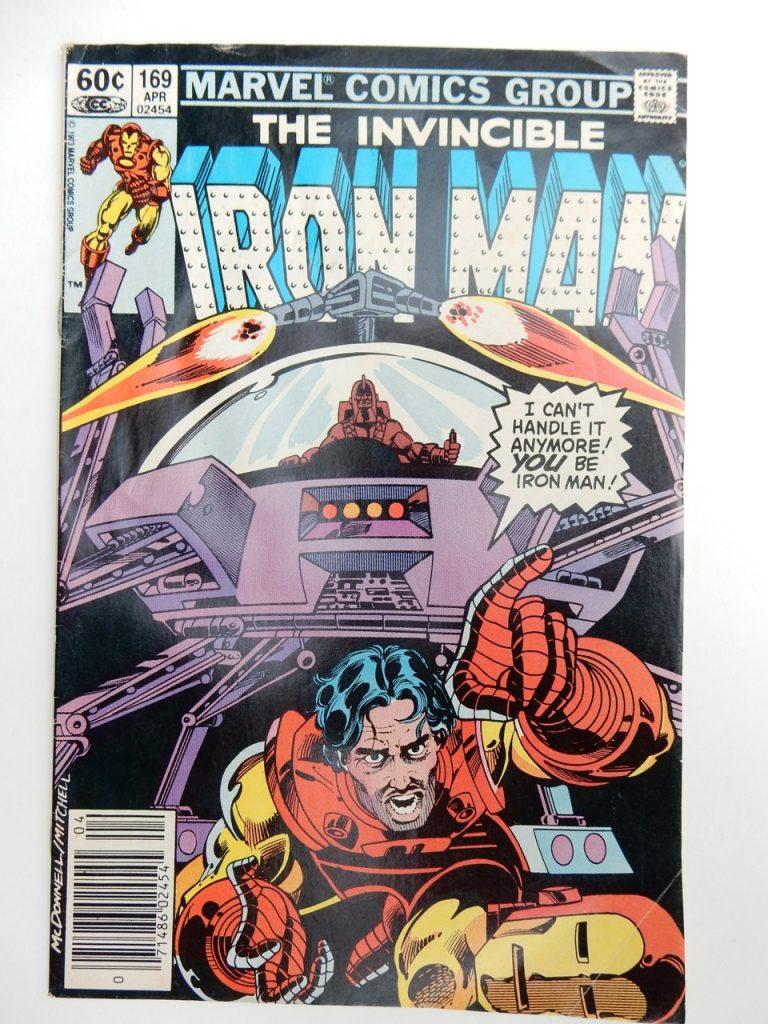 Iron Man #169