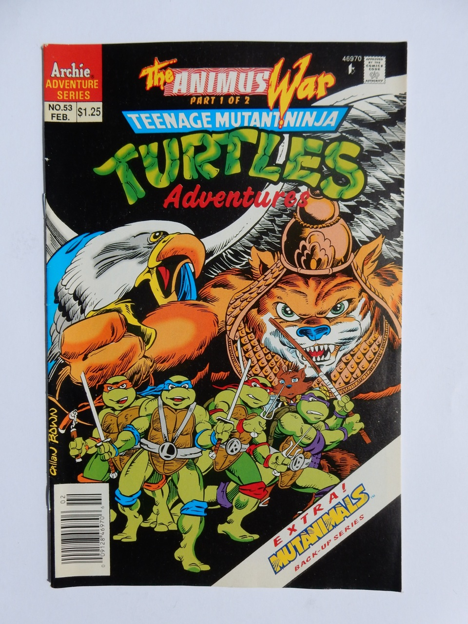 Teenage Mutant Ninja Turtles Adventures #53