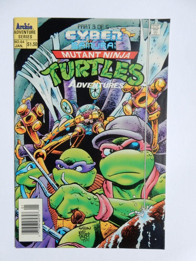 Teenage Mutant Ninja Turtles Adventures #64