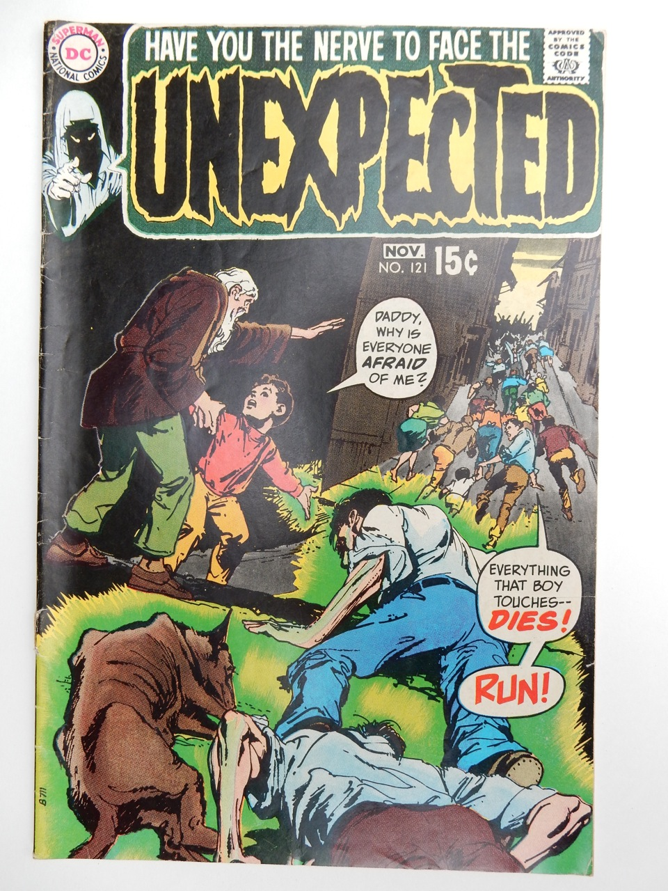 Unexpected #121 with Neal Adams Cover