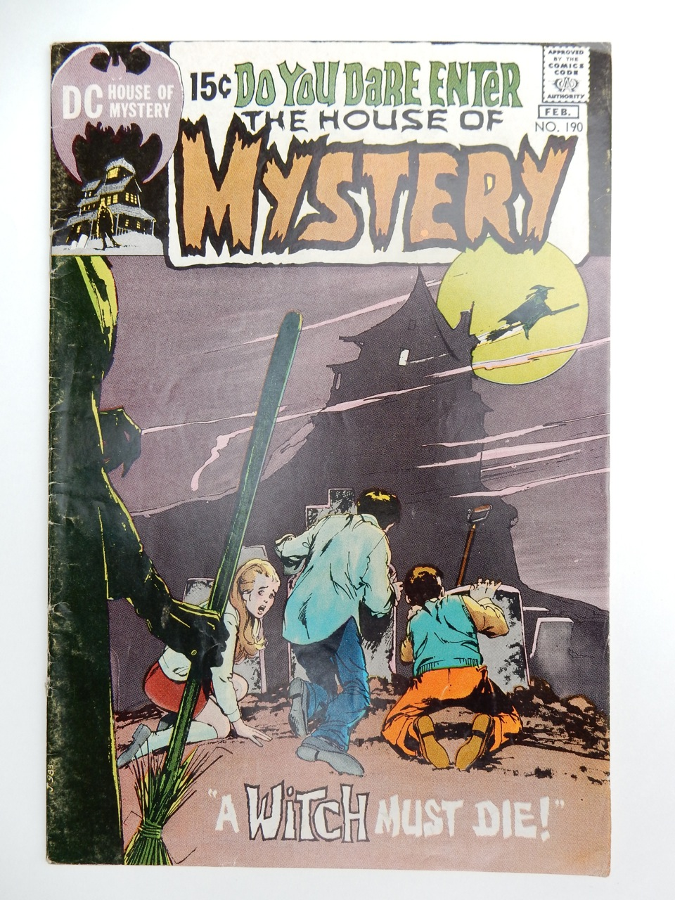 House Of Mystery #190