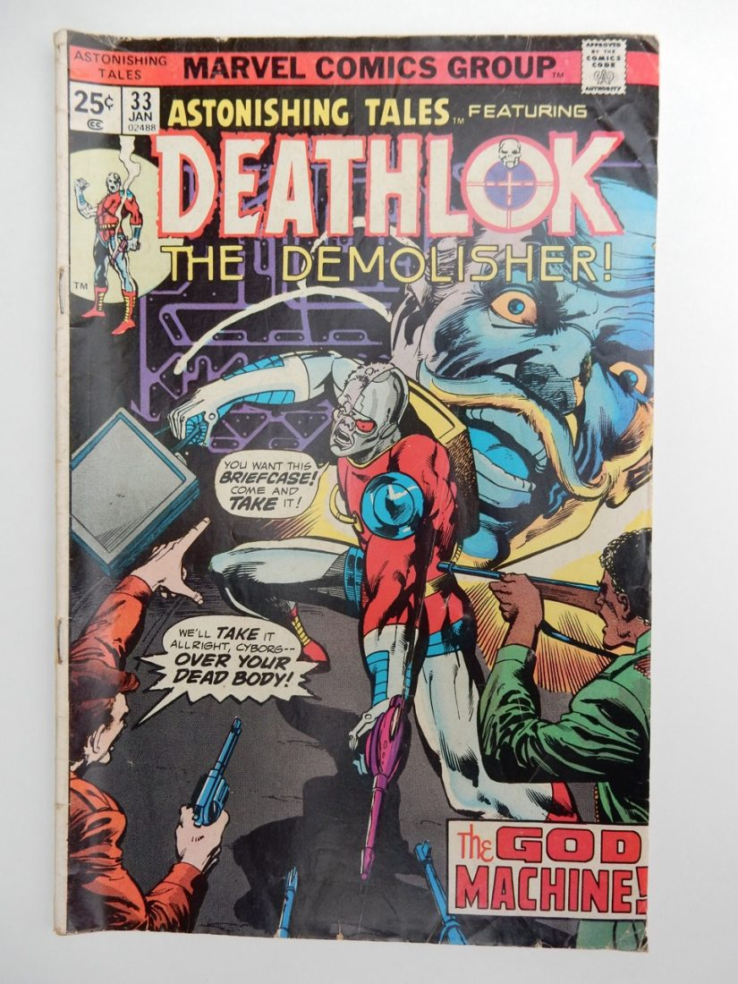 Astonishing Tales #33 Deathlok The Demolisher