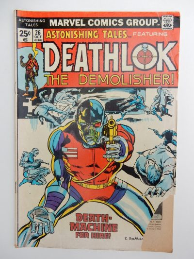 Astonishing Tales #26 Deathlok The Demolisher