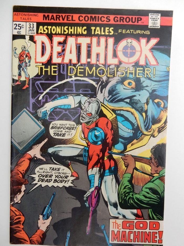 Astonishing Tales #33 - Deathlok