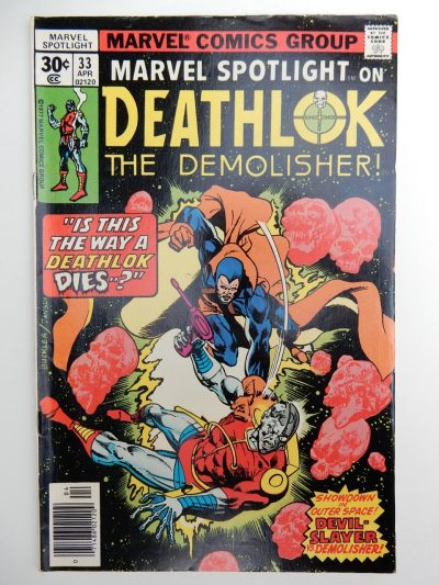 Marvel Spotlight on Deathlok The Demolisher #33