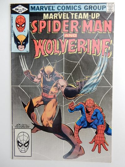Marvel Team-Up #117 Spider-Man and Wolverine