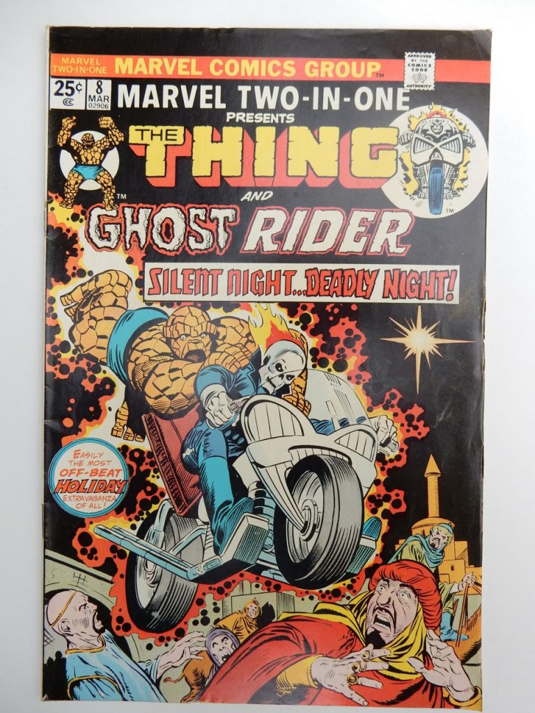 Marvel Two-In-One #8 The Thing and Ghost Rider