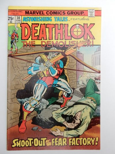 Astonishing Tales #30 - Deathlok