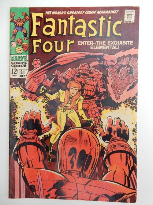 Fantastic Four #81