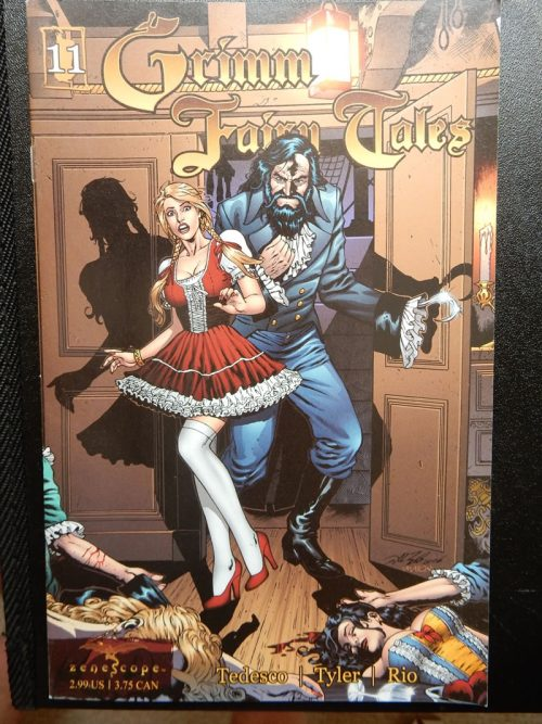 Grimm Fairy Tales #11 - Bluebeard the Pirate