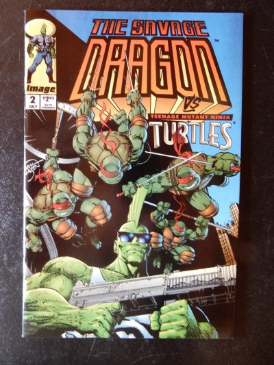 Savage Dragon vs Teenage Mutant Ninja Turtles #2