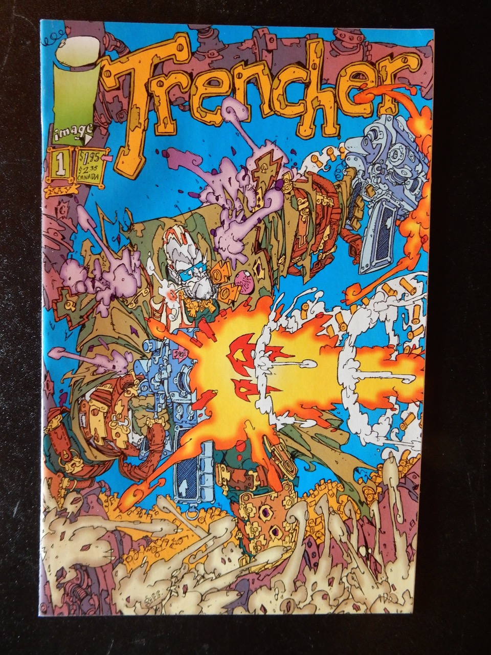 Trencher #1 Comic book by Keith Giffen
