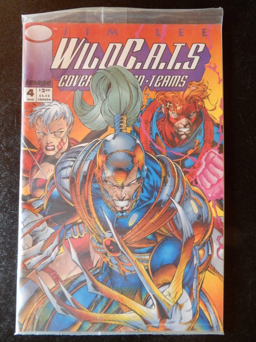Wildcats #1 - Polybagged Still Sealed Copy