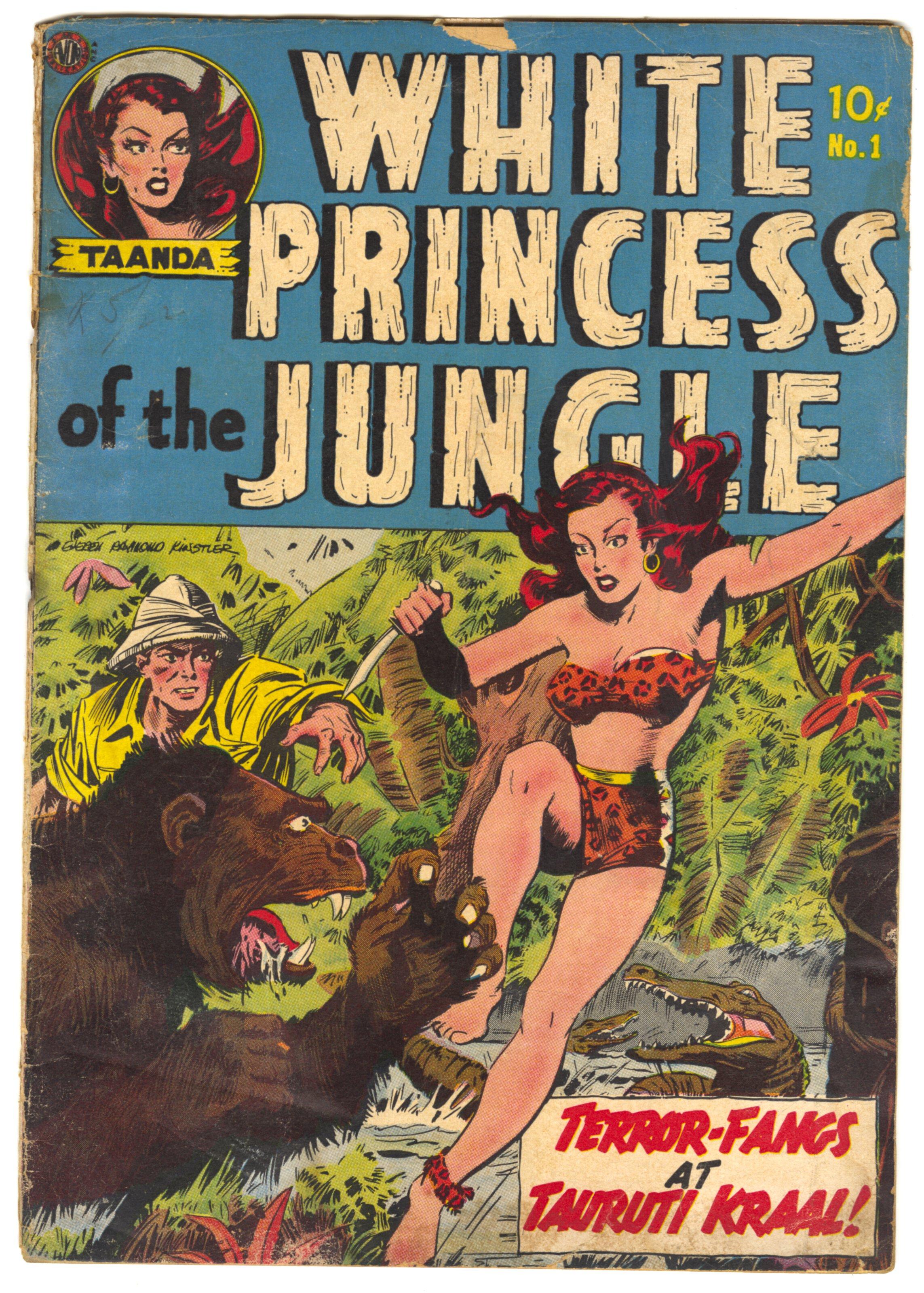 Taanda White Princess of the Jungle #1