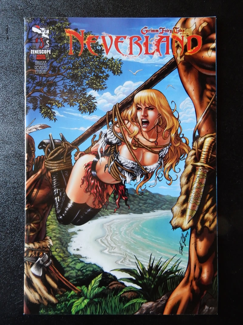 grimm fairy tales neverland 3 retailer incentive cover