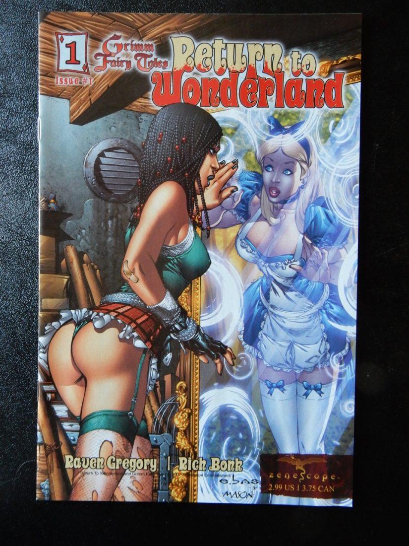 Return To Wonderland #1 - Ebas Cover