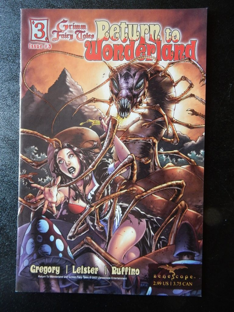 Return To Wonderland #3 - Richard Bonk Variant