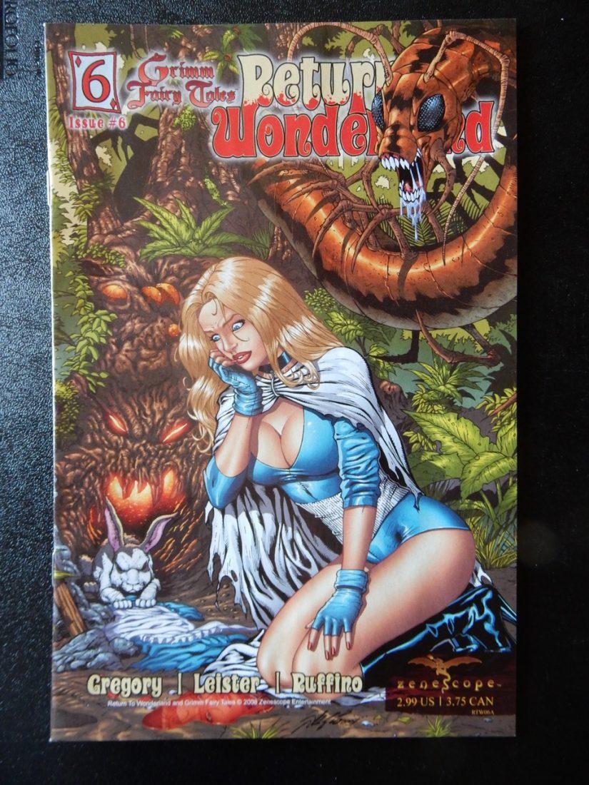 Return To Wonderland #6 – Regular Cover by Al Rio