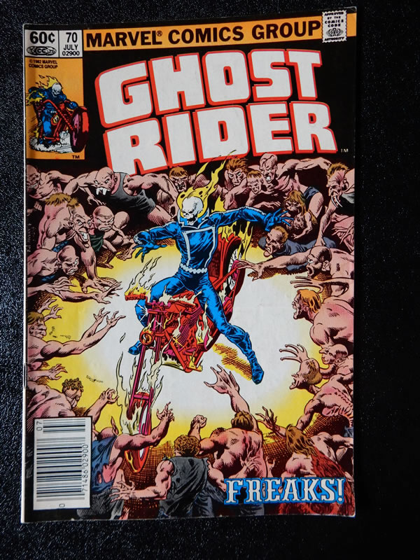 Ghost Rider #70 - Freaks!