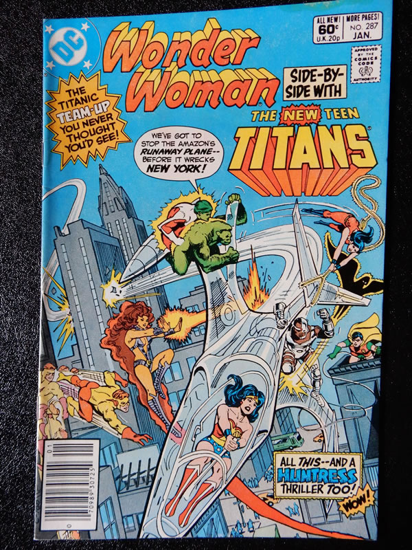 Wonder Woman #257 with Starfire and Huntress