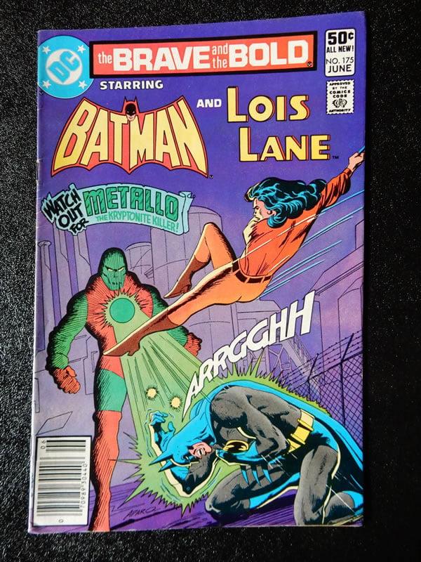 Batman and Lois Lane