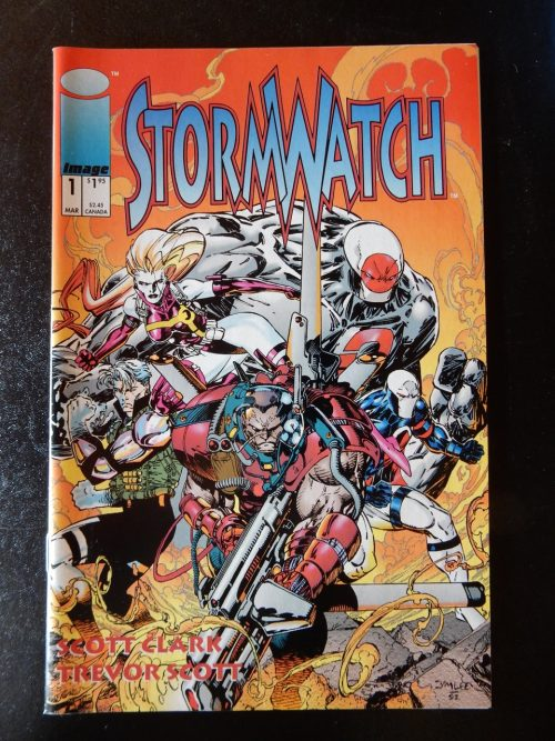 Stormwatch #1 by Scott Clark and Trevor Scott