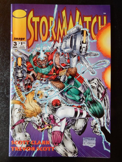 Stormwatch #3 by Scott Clark and Trevor Scott