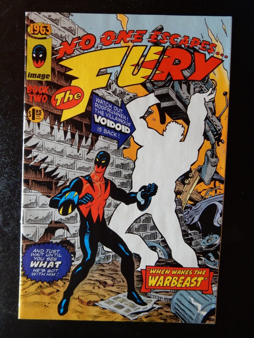 1963 #2 - The Fury by Alan Moore and Steve Bissette