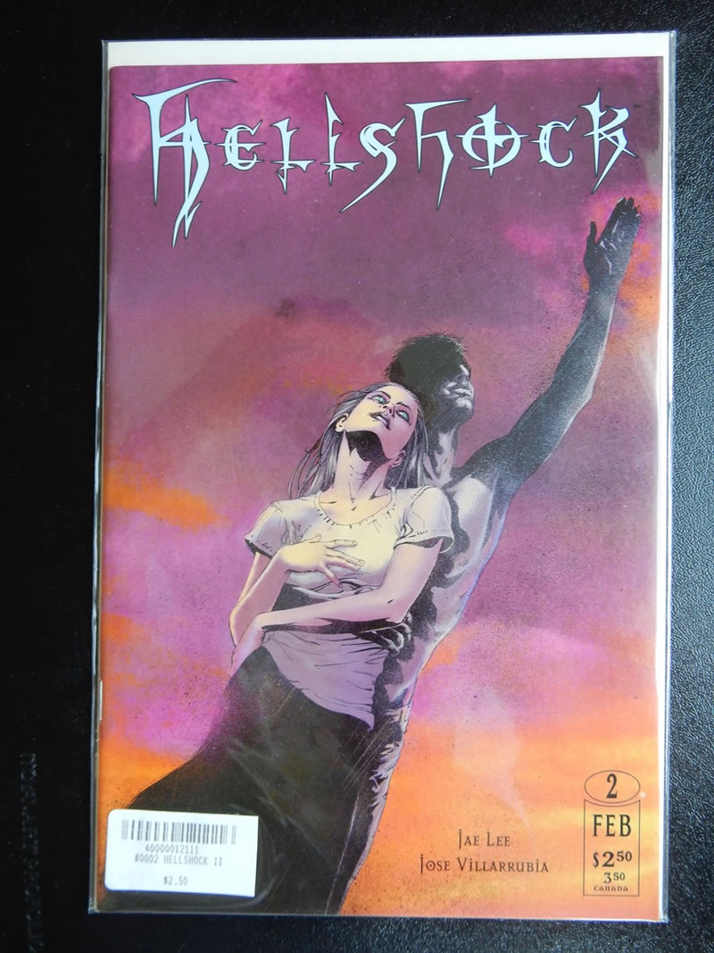 Hellshock #2 with art by Jae Lee and Jose Villarrubia
