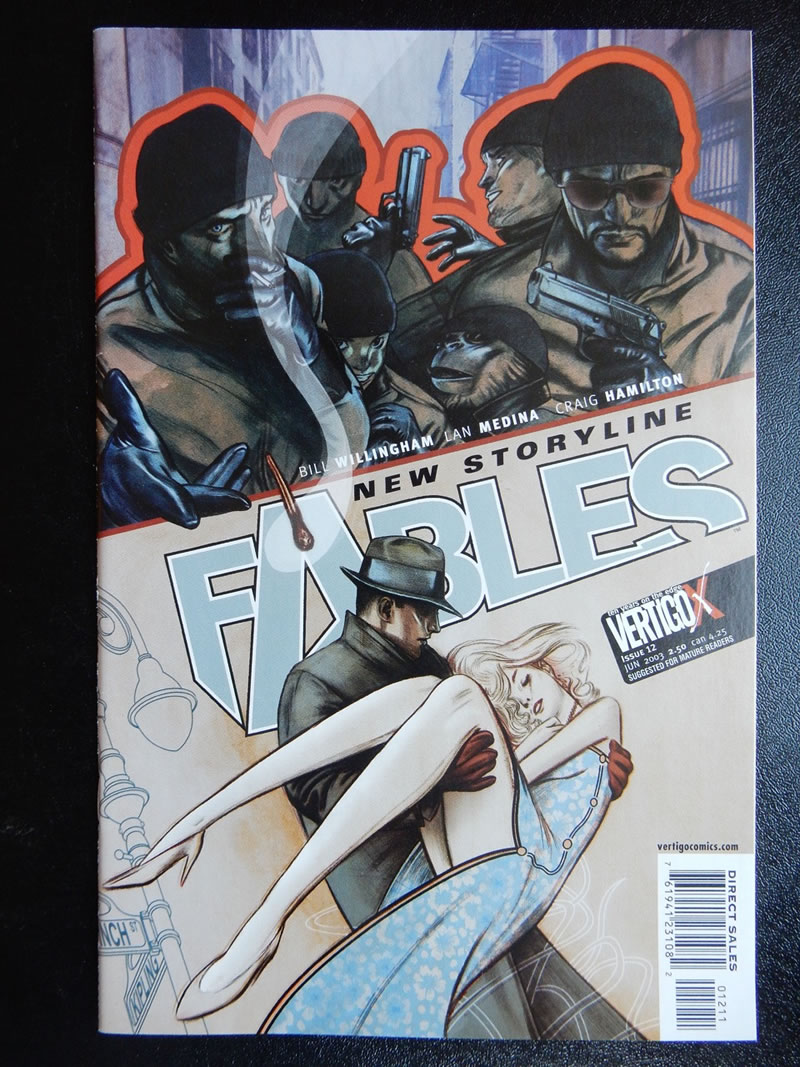 Fables #12 - Sleeping Beauty - Vertigo Comics