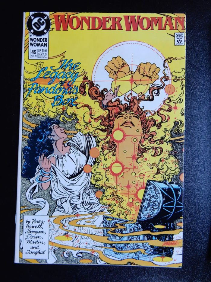 Wonder Woman #45 by George Perez, Colleen Doran, Jill Thompson