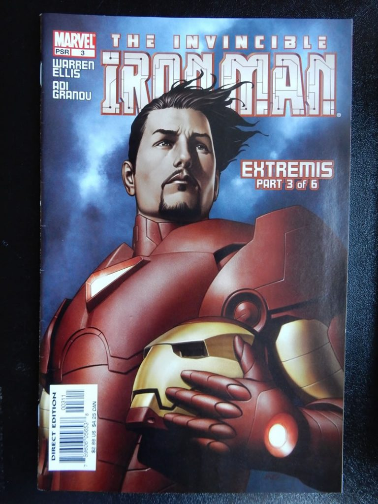Iron Man: Extremis #3 by Adi Granov and Warren Ellis