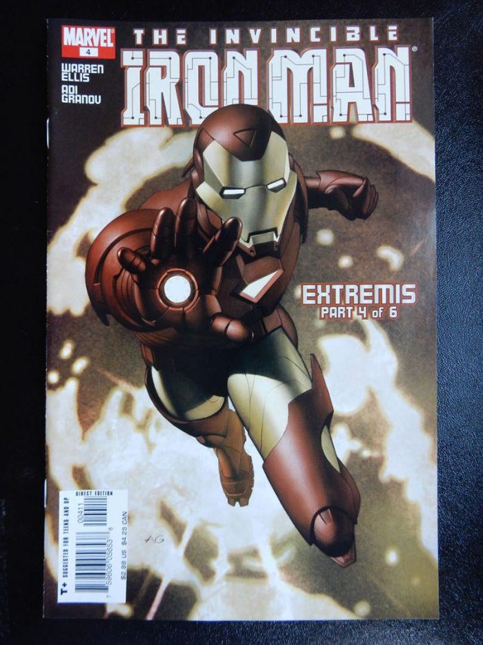 Iron Man: Extremis #4 by Adi Granov and Warren Ellis