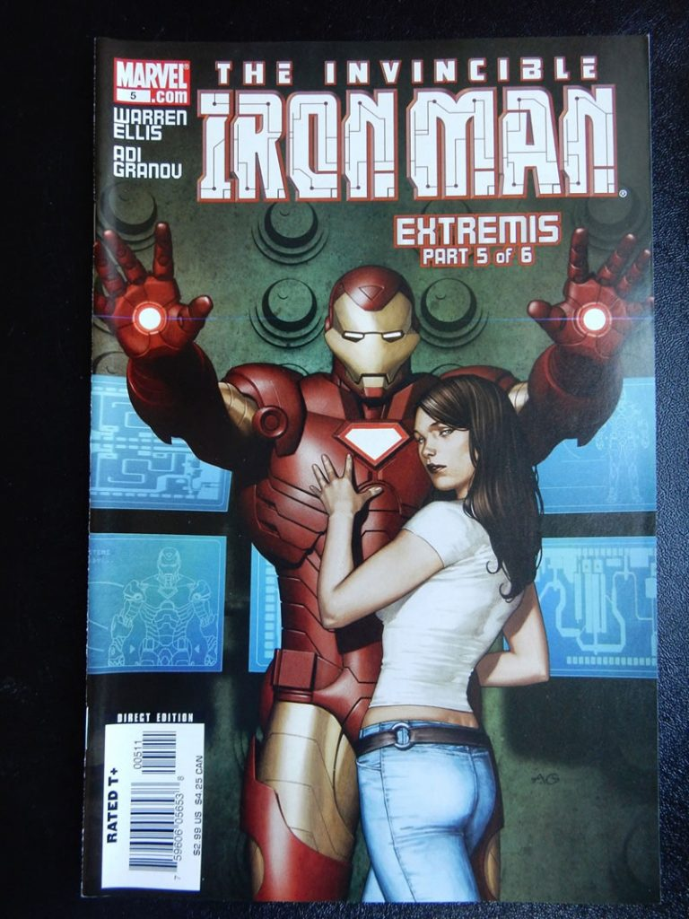 Iron Man: Extremis #5 by Adi Granov and Warren Ellis