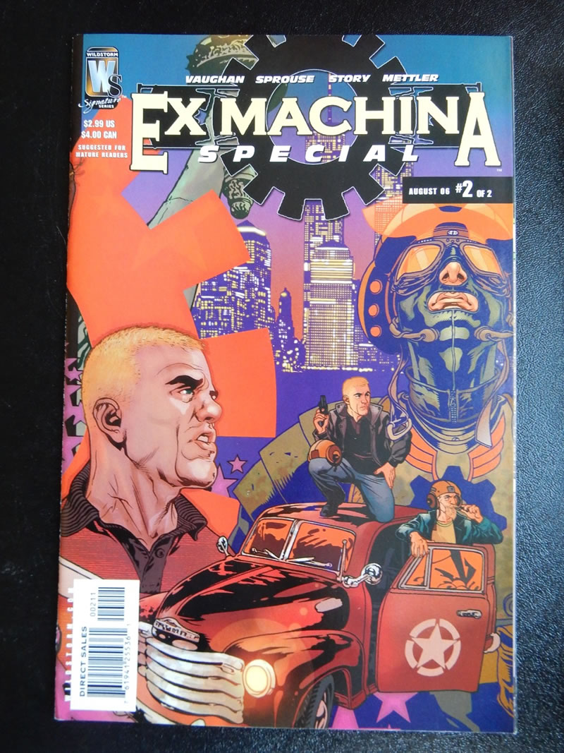 Ex Machina Special #2 - Tony Harris, Chris Sprouse, Karl Story