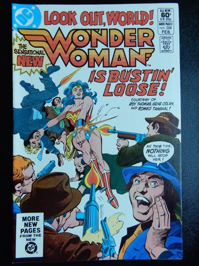 Wonder Woman #288 with Silver Swan and Gene Colan