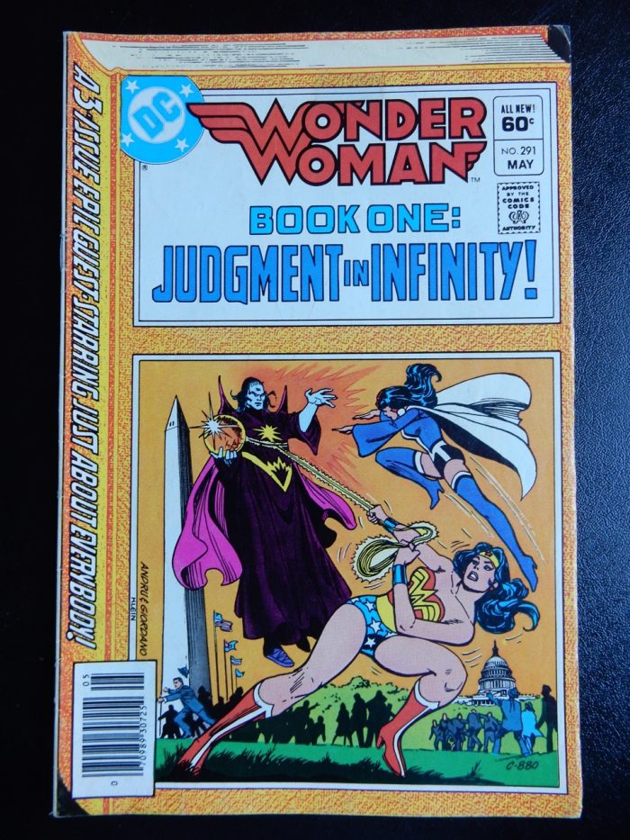 Wonder Woman #291 with Huntress and Supergirl