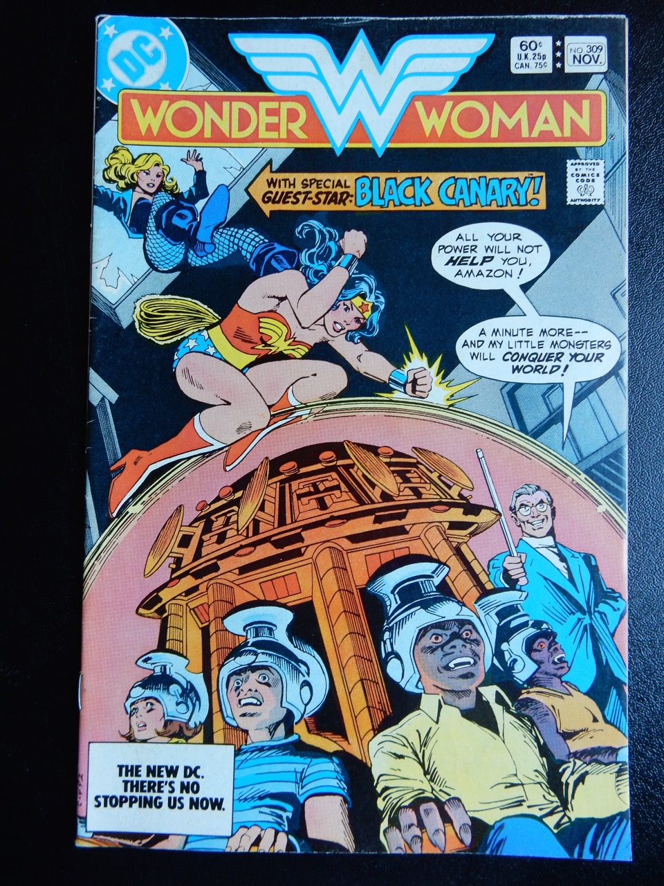 Wonder Woman #309 with Black Canary