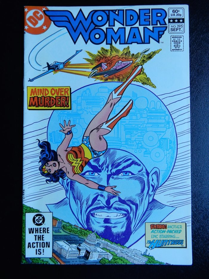 Wonder Woman #295 with Invisible Plane and Huntress