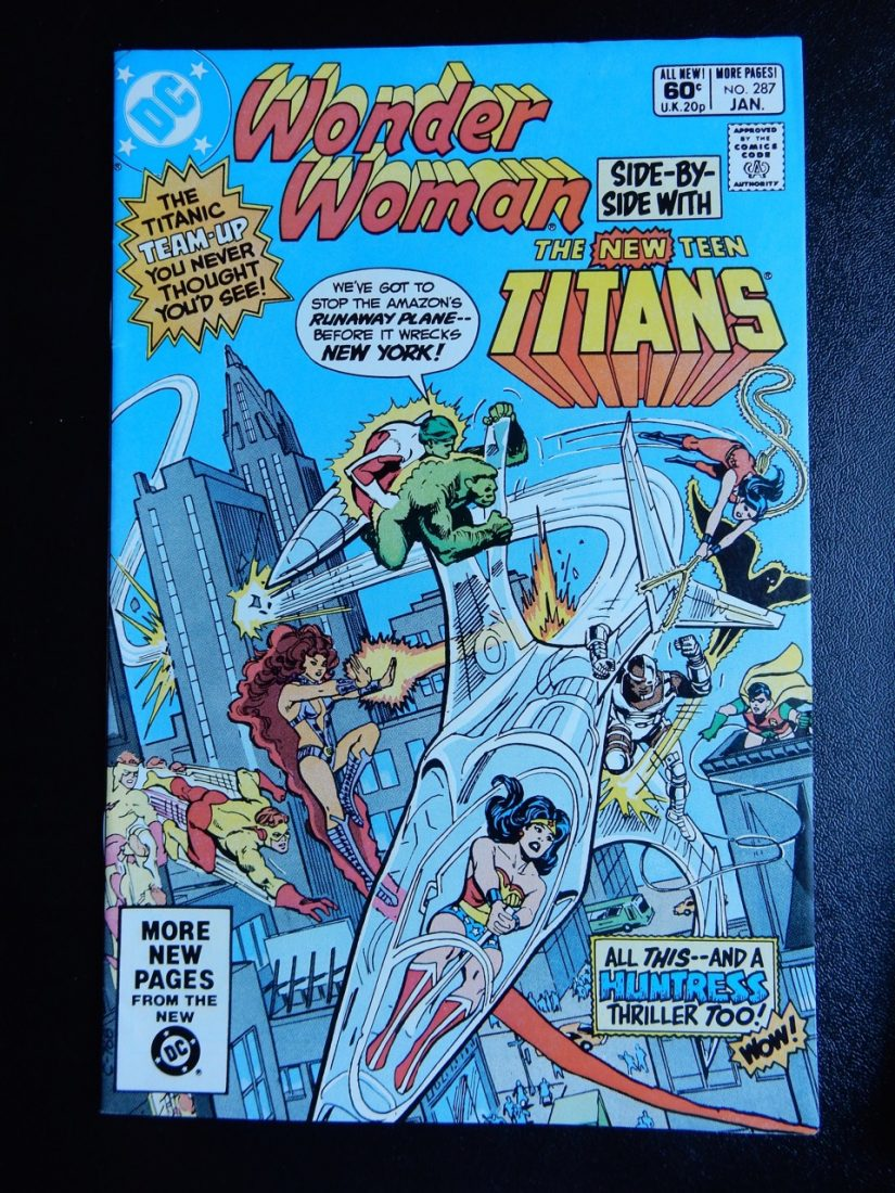 Wonder Woman and New Teen Titans