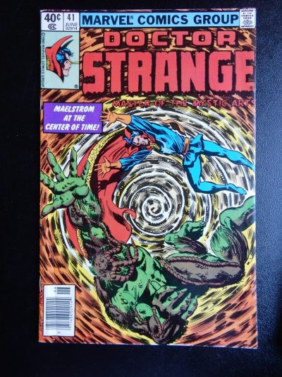 Doctor Strange #41 with Man-Thing