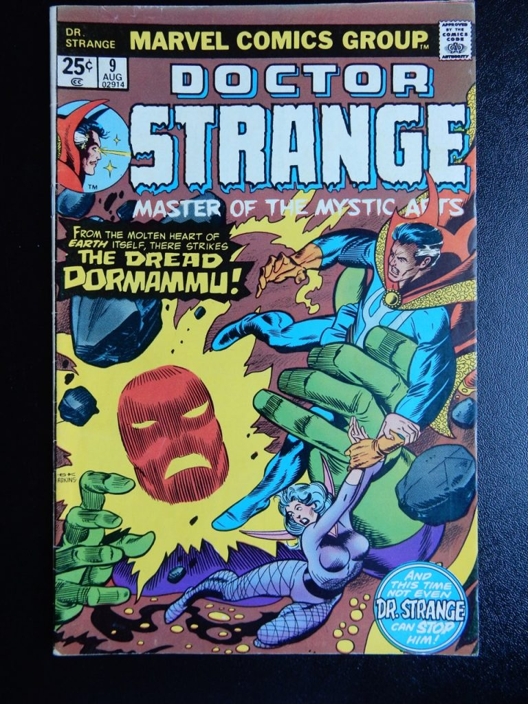 Doctor Strange #9 comic book from 1975 with Dormammu