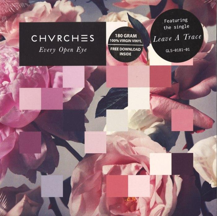 Chvrches - Every Open Eye - 180 Gram, White, Colored Vinyl, LP, Glassnote, 2015