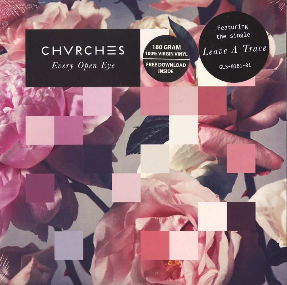 Chvrches - Every Open Eye - 180 Gram, White, Colored Vinyl, LP, Glassnote, 2015