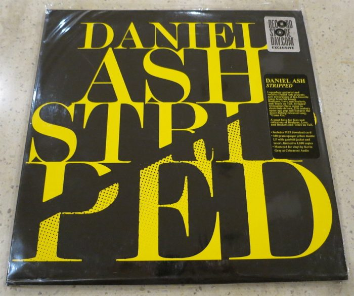 Daniel Ash - Stripped - Yellow Vinyl