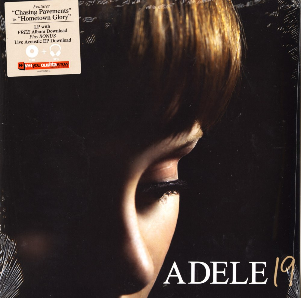 Adele - 19 - Vinyl, LP, XL Recordings, Columbia Records, 2008