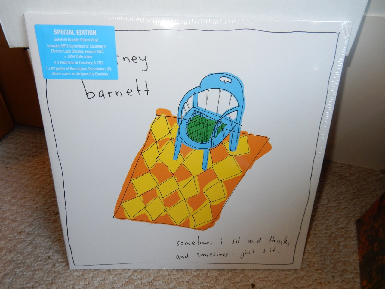 Courtney Barnett ‎– Sometimes I Sit And Think... 2XLP Yellow Special Edition