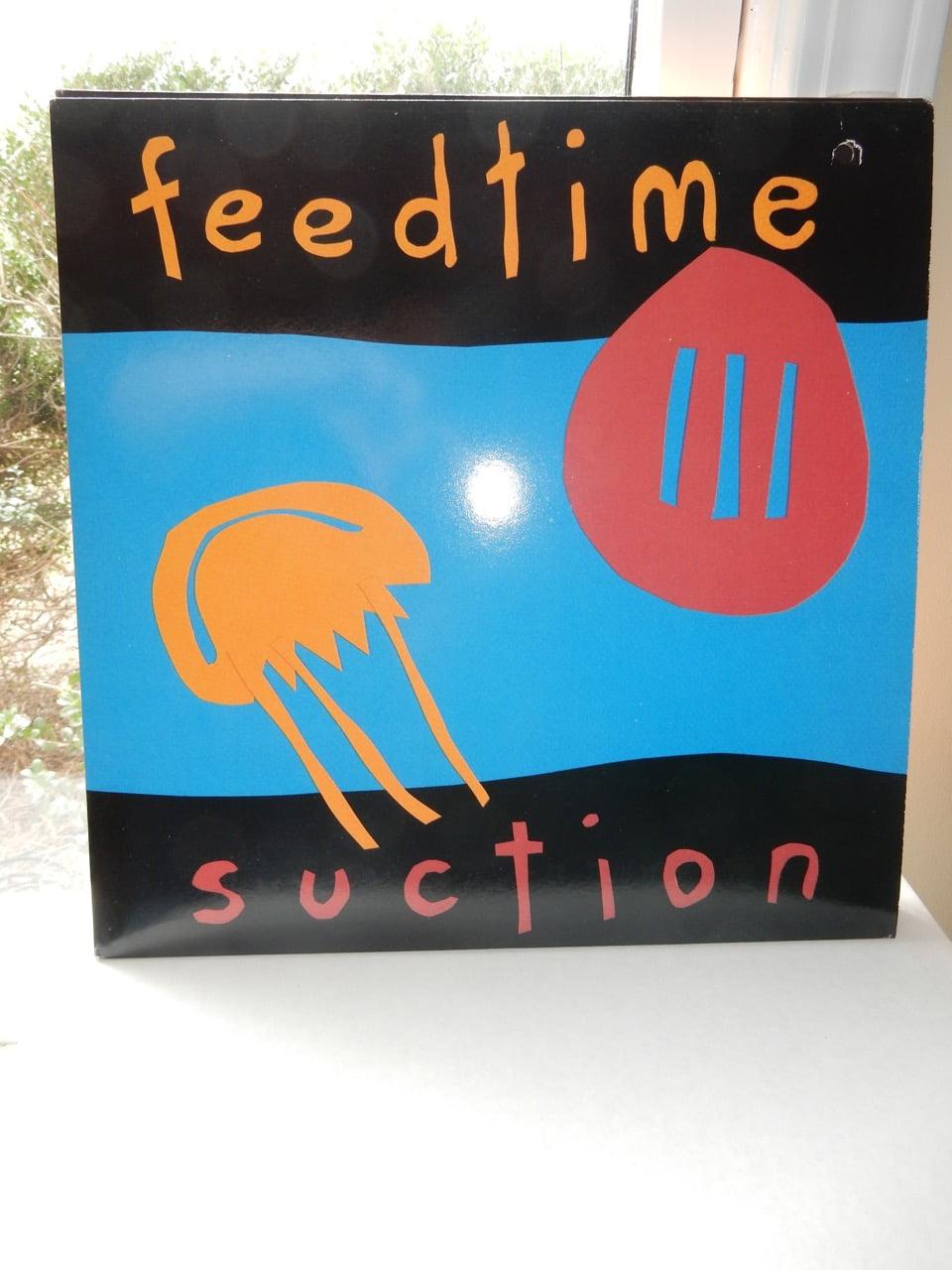 Feedtime - Suction - Vinyl LP 1989